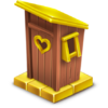 Golden Outhouse