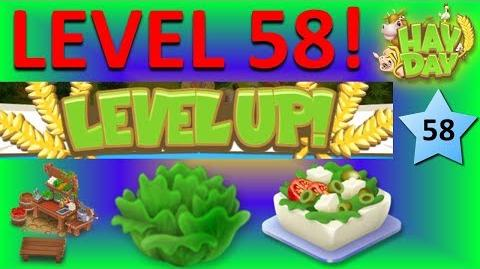HAY DAY - LEVEL 58! UNLOCKING THE SALAD BAR AND A NEW CROP, LETTUCE!