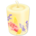 Floral Candle