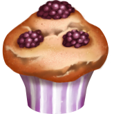 Blackberry Muffin