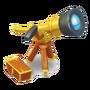 Goldenes Teleskop