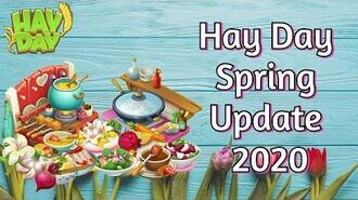 Hay Day Spring Update 2020 New Machines, Products, Derbies & Crops!
