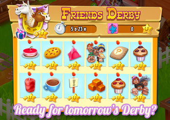 Friends Derby