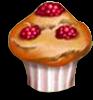 Bringebærmuffins