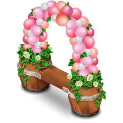 Balloon Bench★