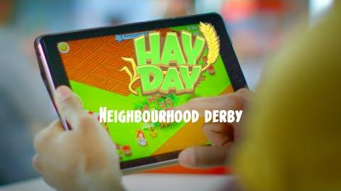 Hay Day Introducing the Neighborhood Derby