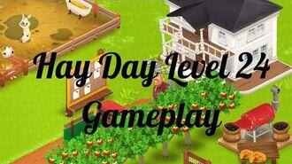 Hay Day Level 24 Gameplay