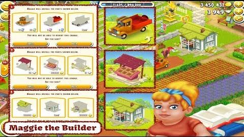 Hay Day - Maggie the Builder