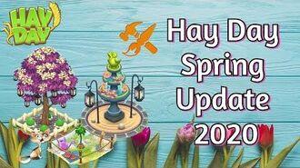 Hay Day Spring Update 2020 Custom Decorations & Blueprints!-1