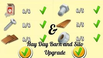 Hay Day Upgrade Silo to 200 & Barn to 175