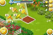 Feld-Pflanzenmenü