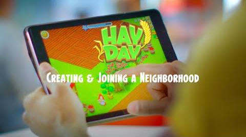 Hay Day Creating & Joining a Neighborhood