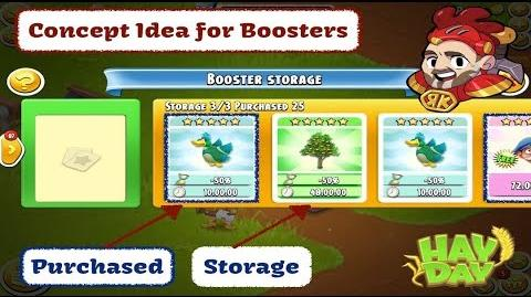 Hay Day - Concept Idea - New Booster User Interface