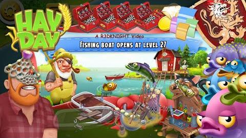 Hay Day - The Fishing Area Guide