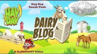 Hay Day Dairy Blog Update 2019 - Sneak Peek - New Buildings