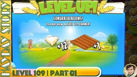 Reaching Hay Day Level 109 Part 01