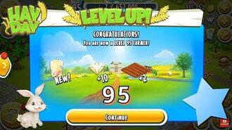 Hay Day Level Up to 95!
