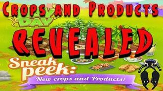 Hay Day Update-SNEAK PEEK-New Crops and Products REVEALED!!