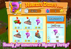 Mystery Derby