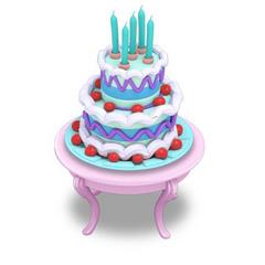 Blue Cake★