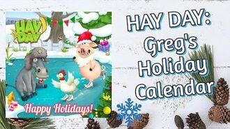 Hay Day Greg's Holiday Calendar (Box 9 - Box 24)