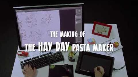 The making of Hay Day Pasta Maker