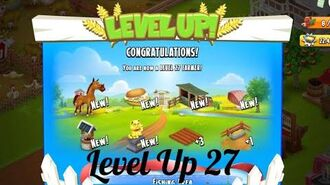 Hay Day Level Up 27