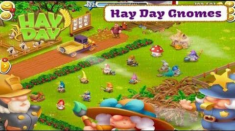 Hay Day Gnomes - The New Derby Decoration