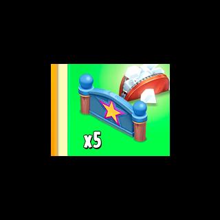 Star Fence x5