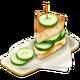 Sandwich au Concombre