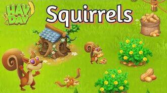 Hay Day Squirrels (Tutorial & First Gameplay)-0