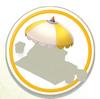 Awning Yellow Umbrella