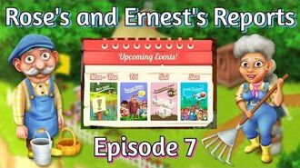 Hay Day Rose's and Ernest's Reports Weekly Events! Social Media Activity!