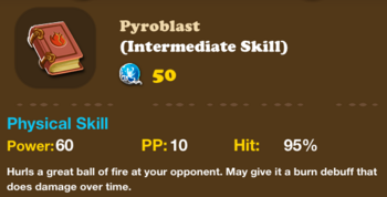 Skillfire Pyroblast