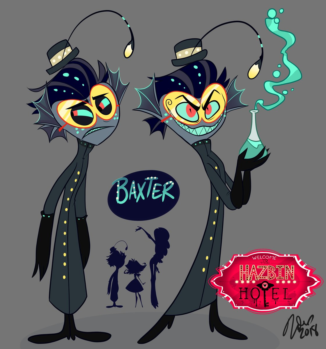 Baxter Hazbin Hotel Wiki Fandom Powered By Wikia