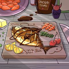 ハニーのために夕食作ったよ@beautymarkbabe666 ❤️💖✨❤️💖✨❤️💖✨😘🥰⭐️💖❤️✨<br />beautymarkbabe666 上出来よ、あなた~👏😍❤️<br />daddy_hoothoot 実際とても美味しそうだね<br />angie_fluffy_bootz ❤