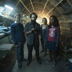Ian, Wilson, Samantha, and Becky