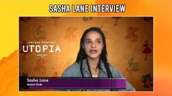 Sasha Lane as Jessica Hyde in 'Utopia' BGN Interview