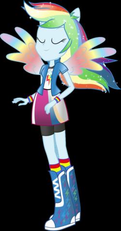 'Rainbow Dash' Rainbowfied