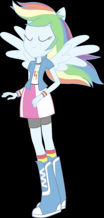 'Vanish Rainbow Dash'