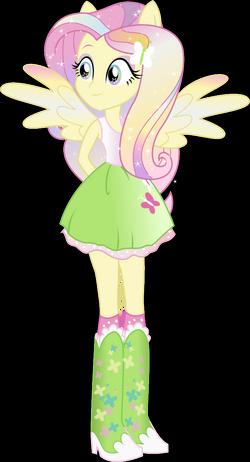 'Fluttershy' Rainbowfied