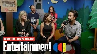 'His Dark Materials' Star Lin-Manuel Miranda & Cast Join Us LIVE SDCC 2019 Entertainment Weekly
