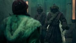 Lyra cornered at Bolvangar