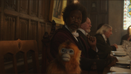Clarke Peters and the golden monkey