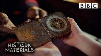 Lyra is gifted the rare truth-telling alethiometer His Dark Materials - BBC