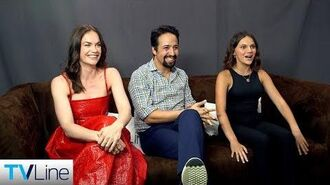 'His Dark Materials' Cast Interview Comic-Con 2019
