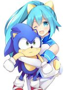 Hatsumi sega and sonic the hedgehog by jokerace03 dbn3g51-fullview