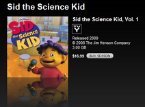Sid the Science Kid - iTunes