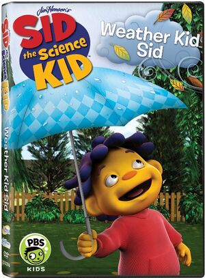 Sid the science kid - Weather Kid Sid DVD