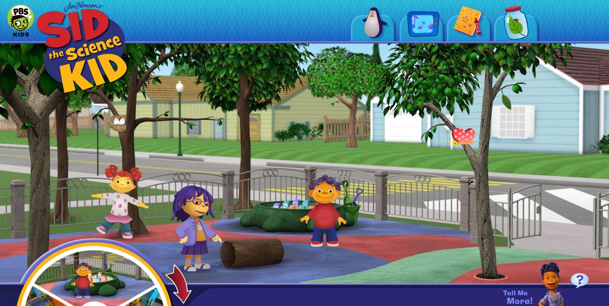 Image - Sid Website - Playground.jpg | Henson Digital Puppetry Wiki ...